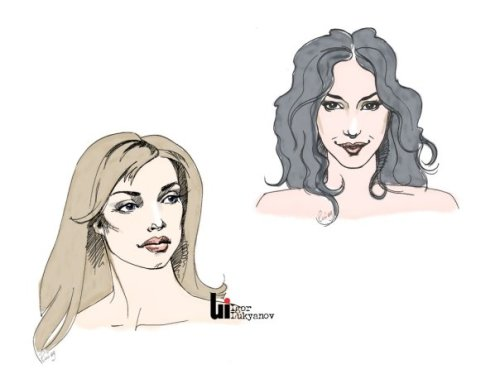 New faces for future fashion illustrations